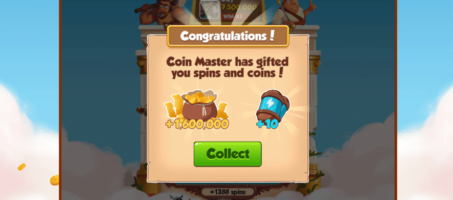 Collect daily free spins coins and many more
