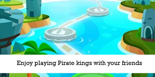 Enjoy playing Pirate kings with your friends