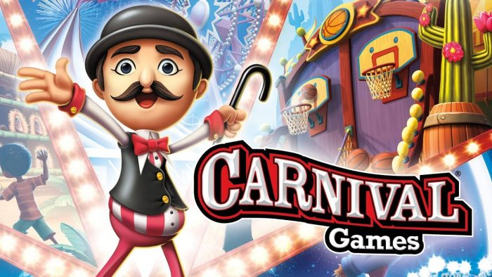 carnival games review non VR version mini games multiplayer