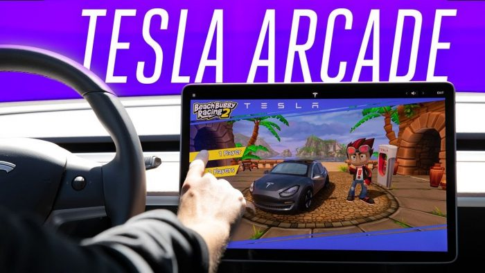 Your Next Game Console Is A Tesla