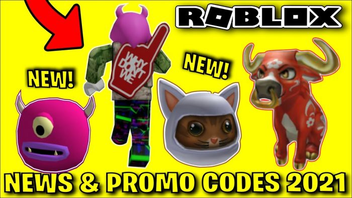 The Newest Roblox Promo Codes on ROBLOX 2021