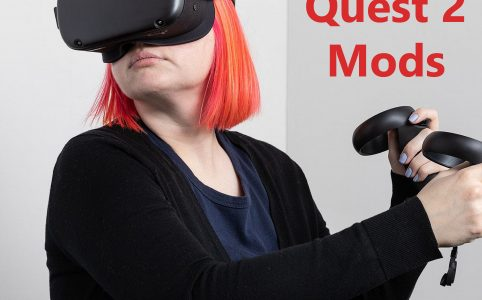 Oculus Quest 2 mods-AMVR Head Pad